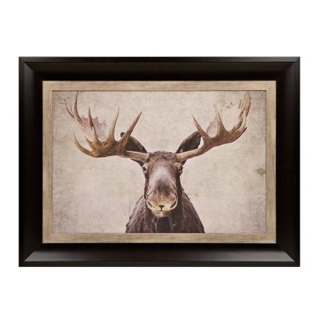 big moose framed art print kirklands