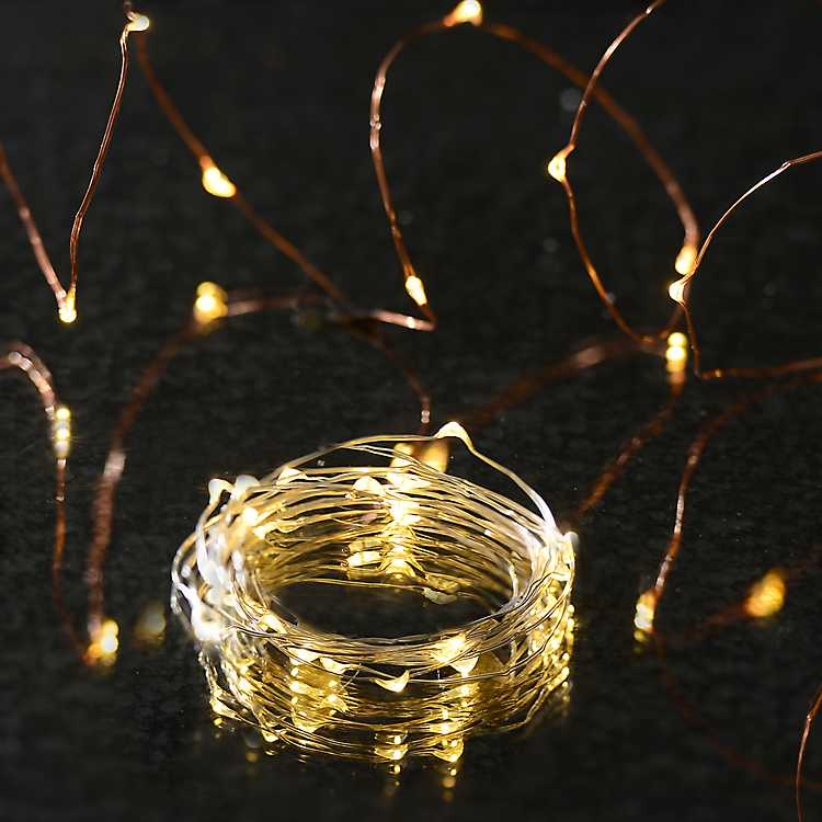 Copper Wire Led String Lights Kirklands