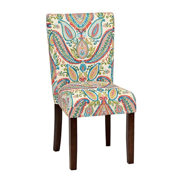 sc 1 st  Kirklands & Watercolor Paisley Parsons Chair | Kirklands