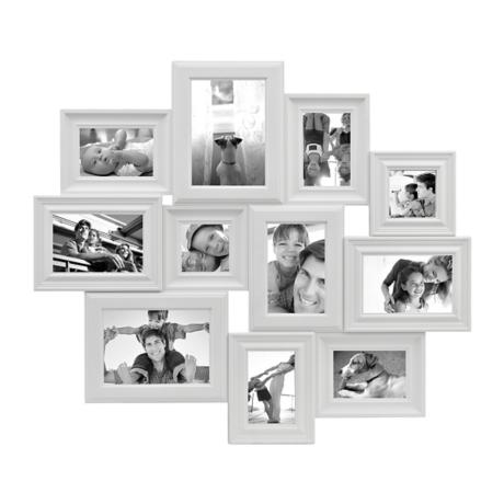 White 11-Opening Collage Frame | Kirklands