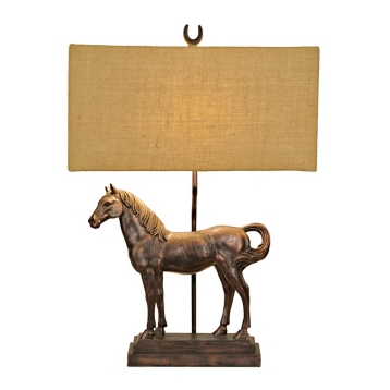 Bronze horse table lamp kirklands aloadofball Image collections