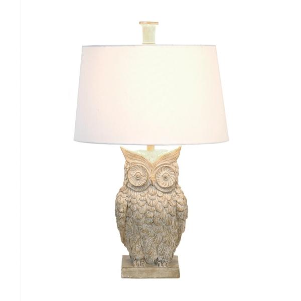 Ambherest owl table lamp kirklands mozeypictures Choice Image