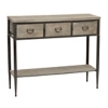 Deals on Natural Burton Console Table