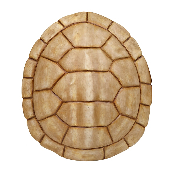 Attractive Ivory Faux Turtle Shell Wall Plaque | Kirklands YY11