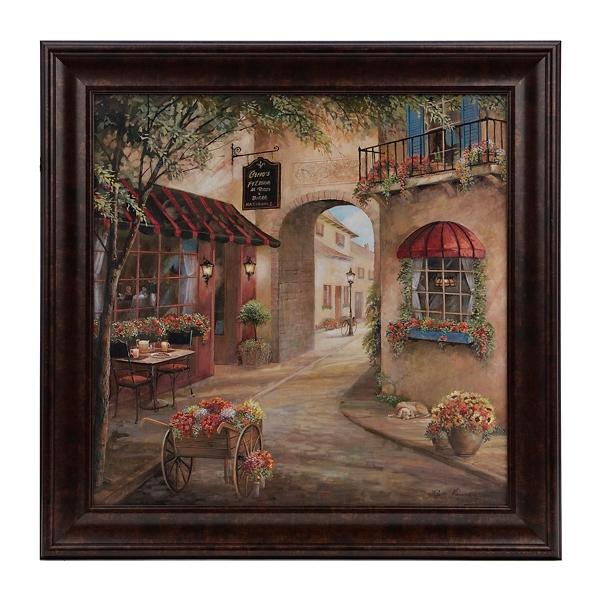 Italian Café I Framed Art Print | Kirklands