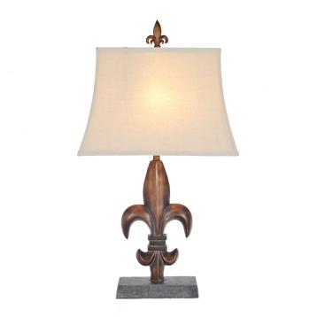 Antique bronze fleur de lis table lamp kirklands aloadofball Gallery