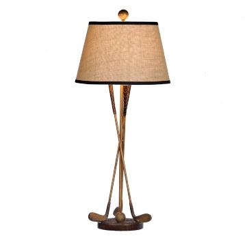 Golf clubs table lamp kirklands aloadofball Choice Image