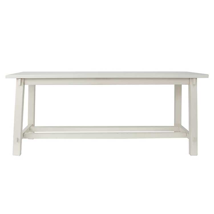 Fabulous Antique White Wooden Bench Gmtry Best Dining Table And Chair Ideas Images Gmtryco