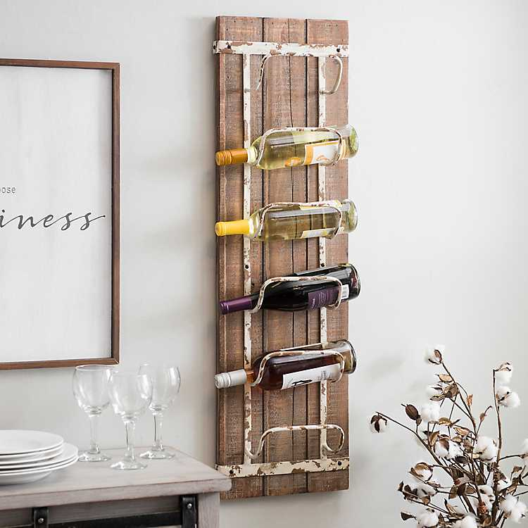 shabby chic easter decor on sale.htm rustic wooden wine rack kirklands  rustic wooden wine rack kirklands