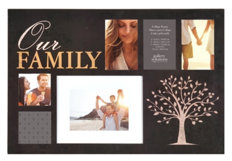 Our Family 6-Opening Collage Frame   Kirklands