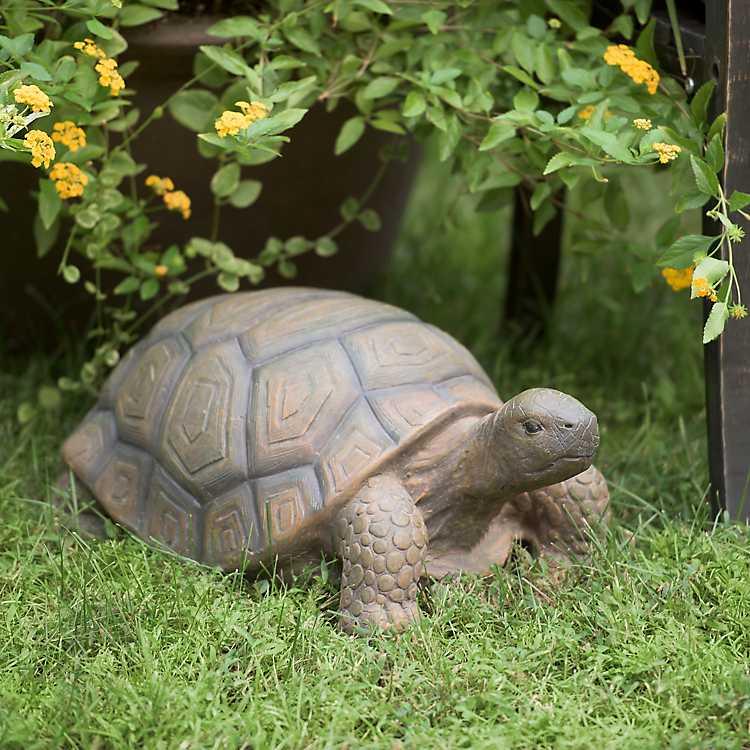 Concrete Tortoise Garden Statue Kirklands