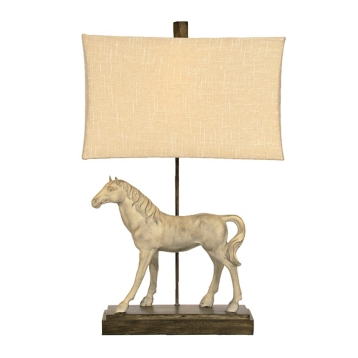Dappled gray horse table lamp kirklands aloadofball Image collections