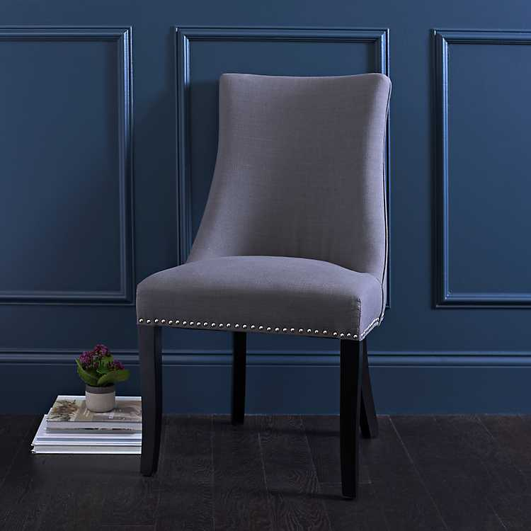 Astounding Charcoal Paige Dining Chair Pdpeps Interior Chair Design Pdpepsorg