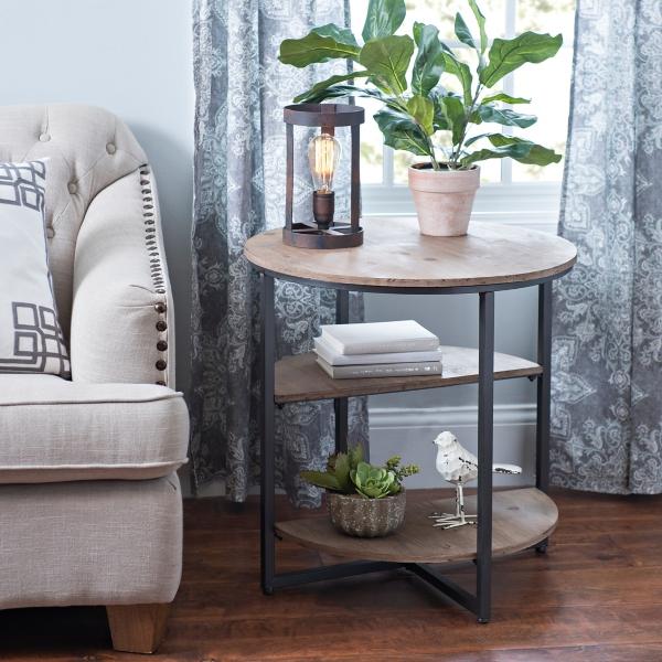 Fairmount Tier Round Accent Table Kirklands - 2 tier round coffee table