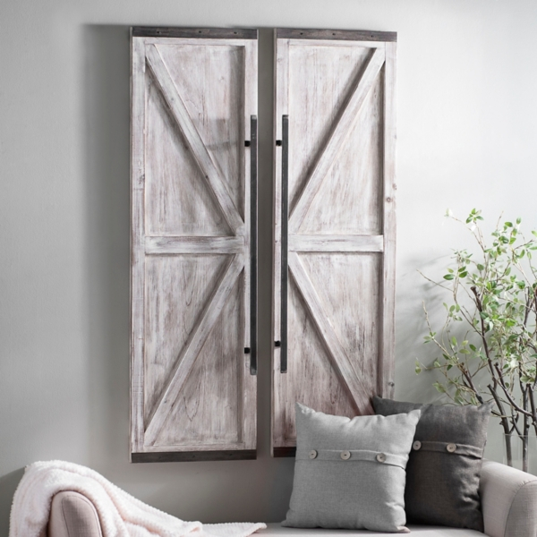 and own look planks our pin farmhouse barn created with style get we in prefinished entryway barns pictures your hardware weathered sliding using a door
