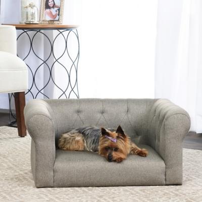 Lance Gray Sofa Pet Bed, Comfortable Pet Beds