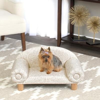 Brandy Vine Sofa Pet Bed, Comfortable Pet Beds