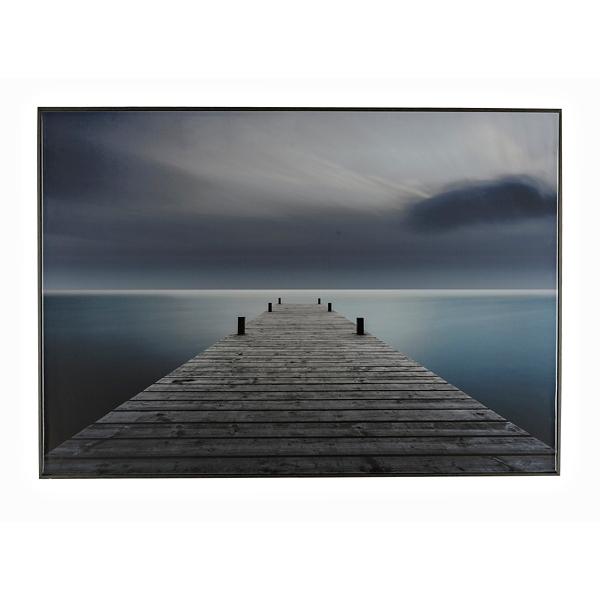 Brand new Dock Framed Canvas Art Print | Kirklands FR09