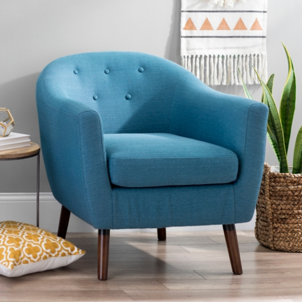 Laura Mid Century Modern Accent Chair