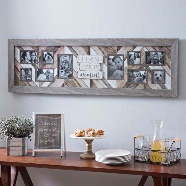 Amazing Cherish Every Moment Collage Frame