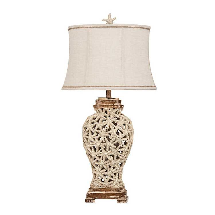 Attrayant Product Details. Starfish Cut Out Table Lamp