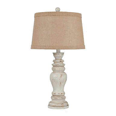 Table lamps glass table lamps kirklands natural earthen cream table lamp aloadofball Image collections
