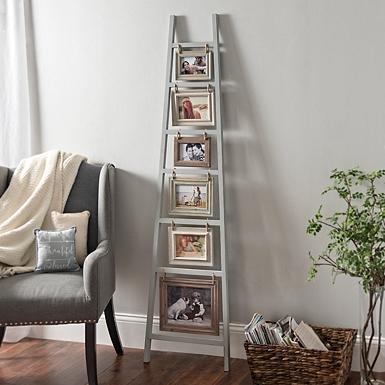 Gray Ladder Leaner Collage Frame | Kirklands