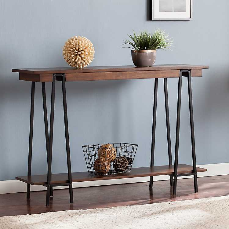 Beau Product Details. Kinsley Wooden Console Table
