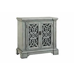 Verdigris Antique 2 Door Cabinet