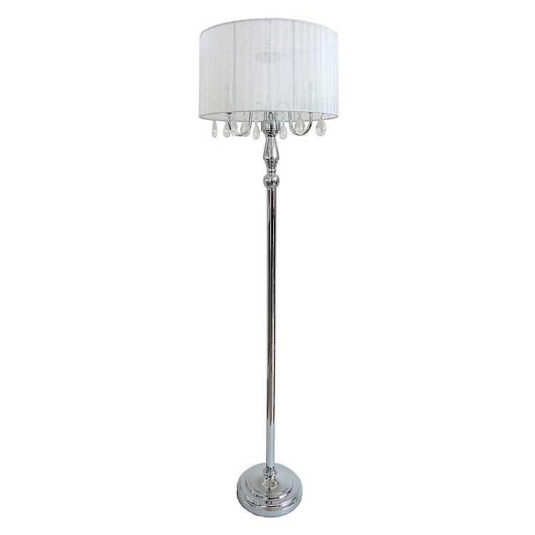 Product Details Crystal Drop Floor Lamp