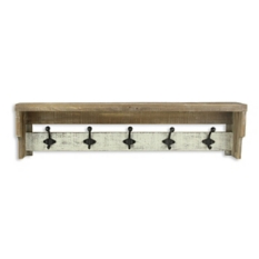 wooden preview with shelf and hallway hooks q storage wall farmhouse