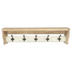 with and pigeonhole white wall shelf hooks baskets