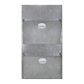 galvanized wall letter holder kirklands