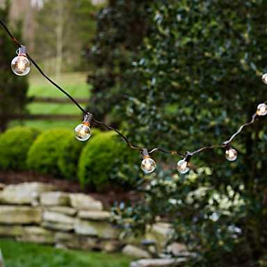 Round Bulbs String Lights