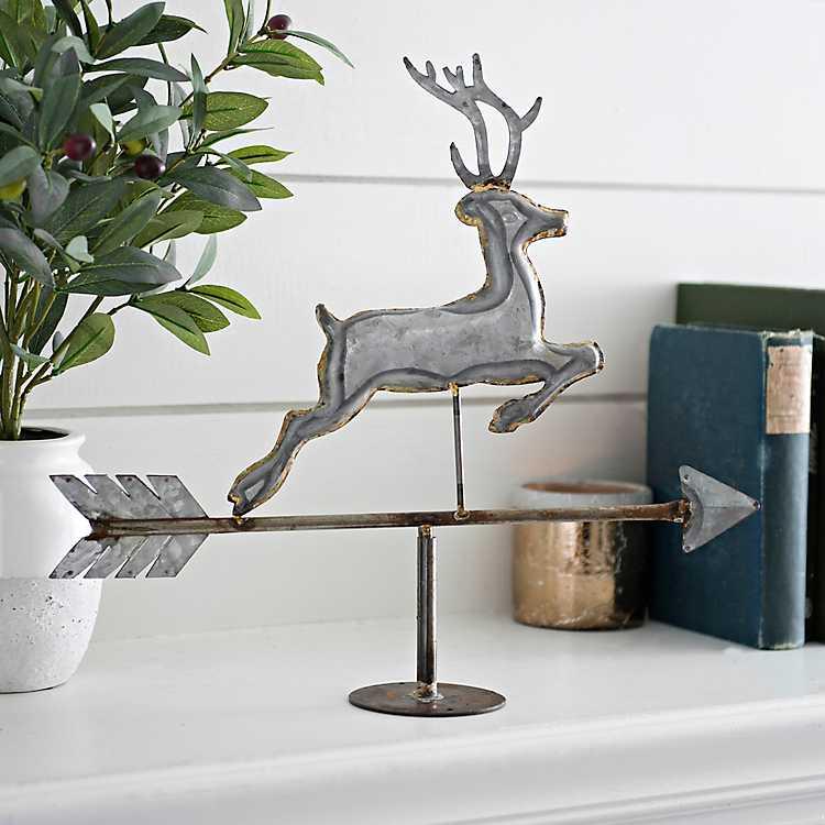 Deer Tabletop Weathervane ...