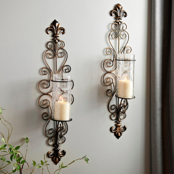 Good Della Corte Sconces, Set Of 2