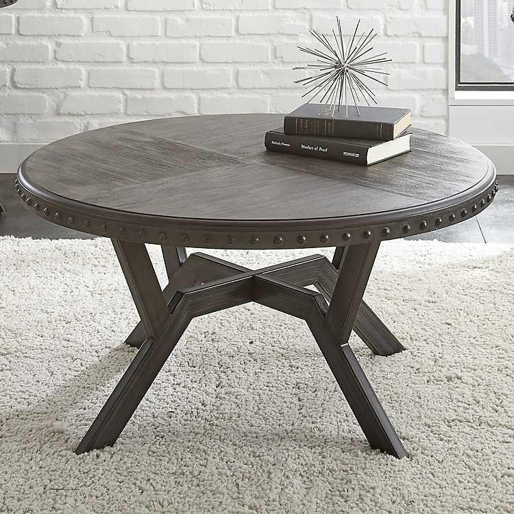 Wondrous Calvert Round Coffee Table Andrewgaddart Wooden Chair Designs For Living Room Andrewgaddartcom
