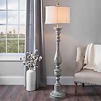 Distressed Eloise Floor Lamp
