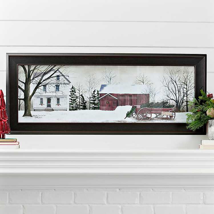 Christmas Trees For Sale Framed Art Print | Kirklands