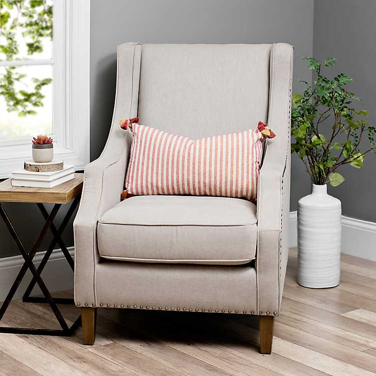 Taupe Accent Chairs.Product Details Quinn Solid Taupe Accent Chair