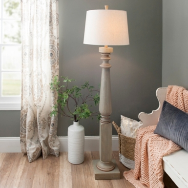 Crawford creek turned floor lamp