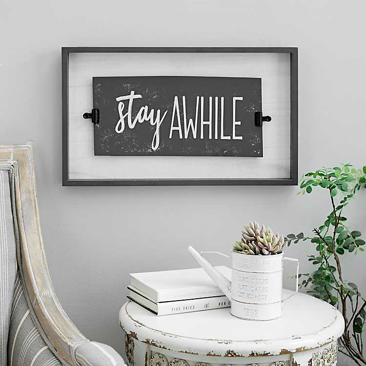 Metal signs plaques Always late Worth wait printed quotes wall art home decor