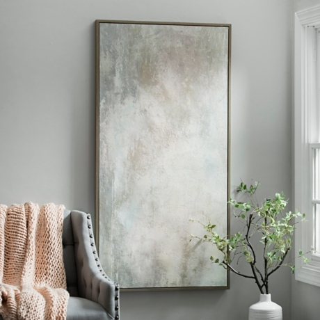Haze Framed Canvas Art Print   Kirklands