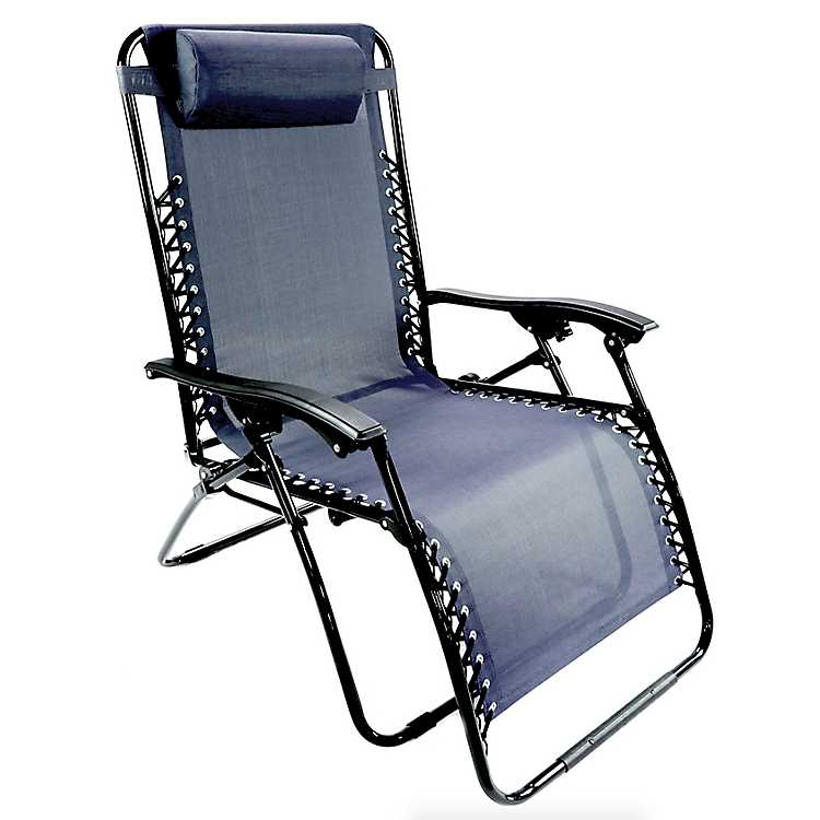 Navy Extra Large Zero Gravity Chair ...