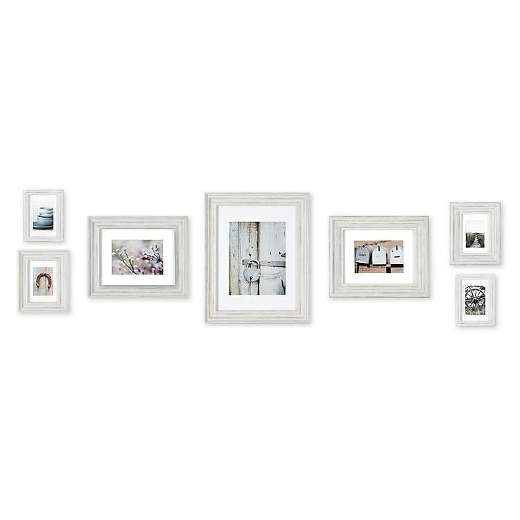 Distressed 7-pc. Gallery Wall Picture Frame Set | Kirklands