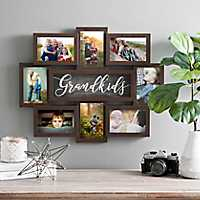 Grandkids 8-Opening Dimensional Collage Frame
