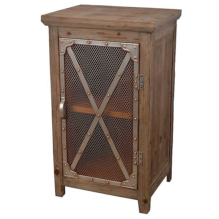 Superbe Chicken Wire Cabinet ...