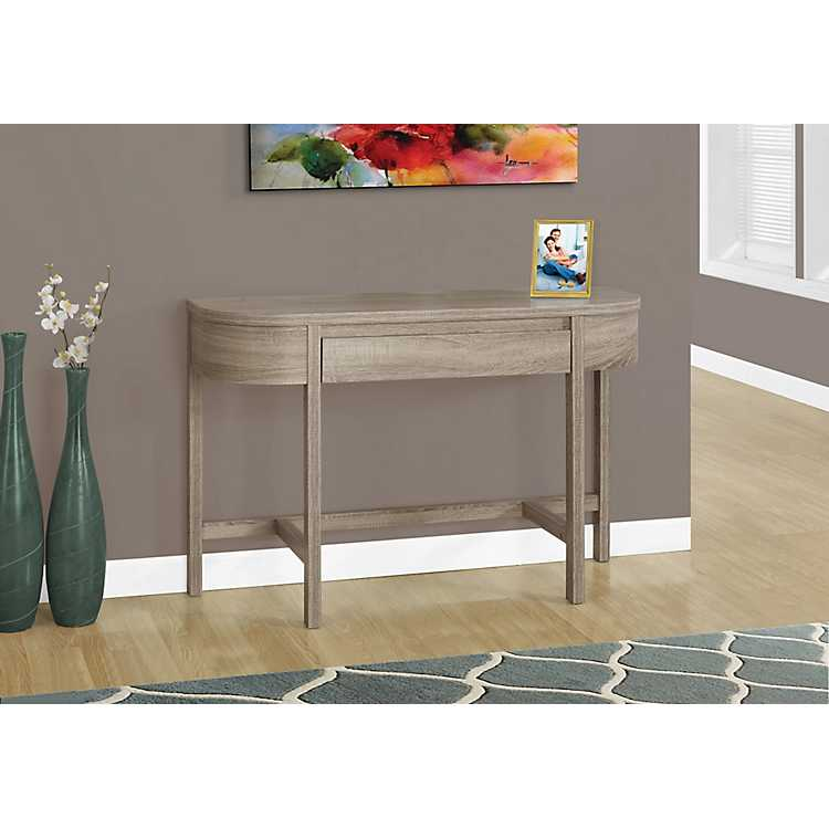 Reclaimed Wood 1 Drawer Console Table ...