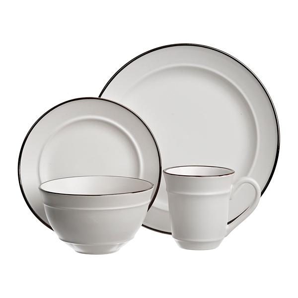 Bolzano White 16-pc. Dinnerware Set  sc 1 st  Kirklands & Dishes   Dinnerware Sets   Kirklands