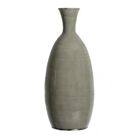 Gray Crackle Oval Vase 21 In Kirklands